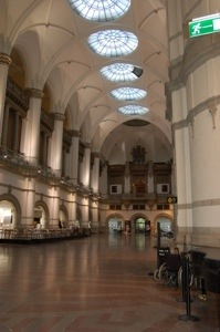 Entrance hall of the Nordic Museum, Stockholm