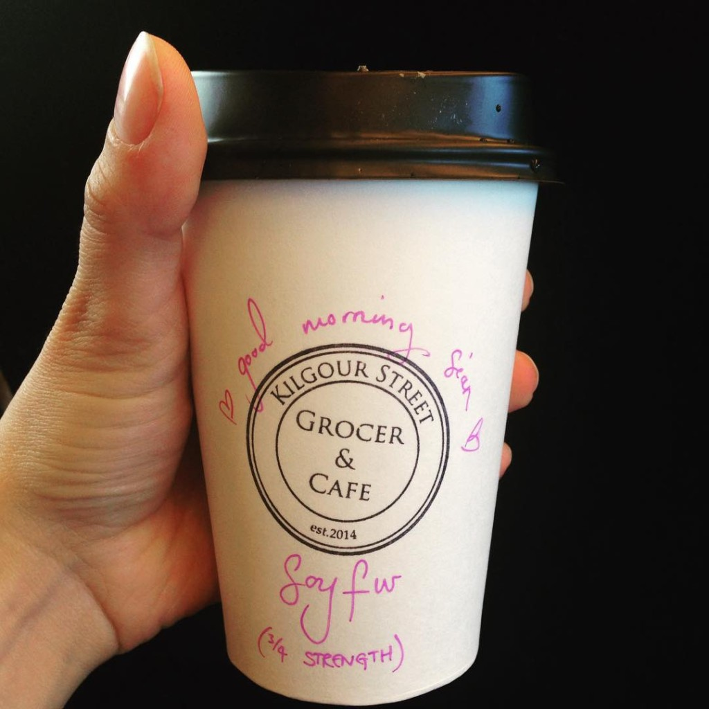 I love our local kilgourstgrocer  coffee Geelong thebest love