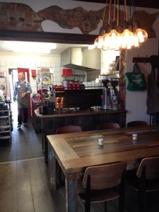 Kitchen at North Fitzroy Social