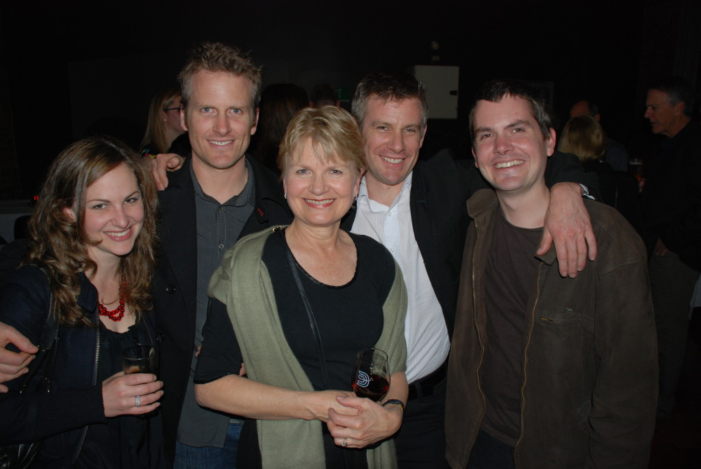 Aunty Sandy with her three boys and daughter-in-law at my 21st in 2009.